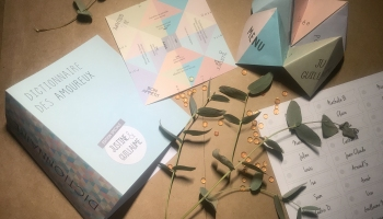 Menu-Cocotte - Etiq plan de table - Couverture livre-bibliothèque