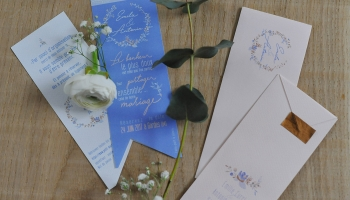 Save The Date - Carte + Enveloppes